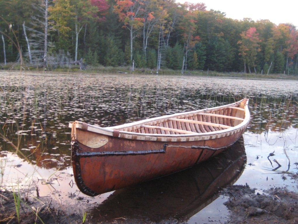 Birch Bark Canoes