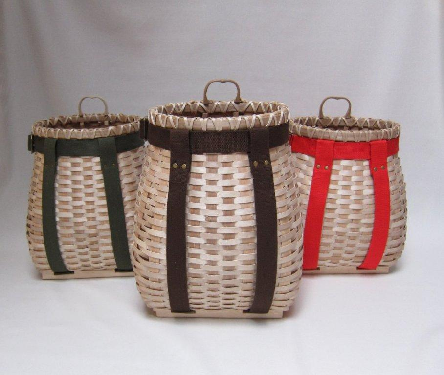 Black Ash Pack Baskets