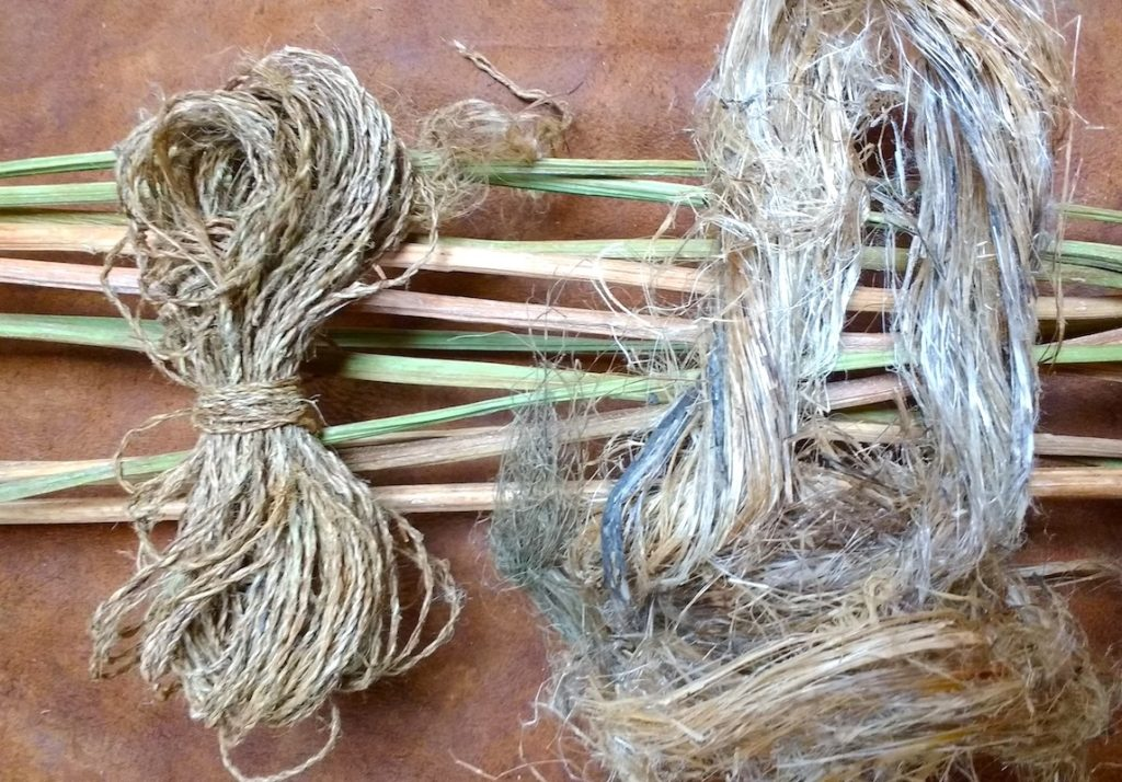 Nettle String Making and Spoon Carving